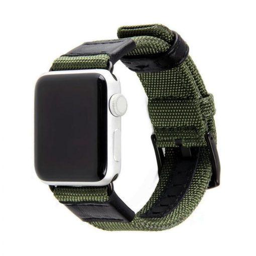 Armégrön Kanvasarmband till Apple Watch