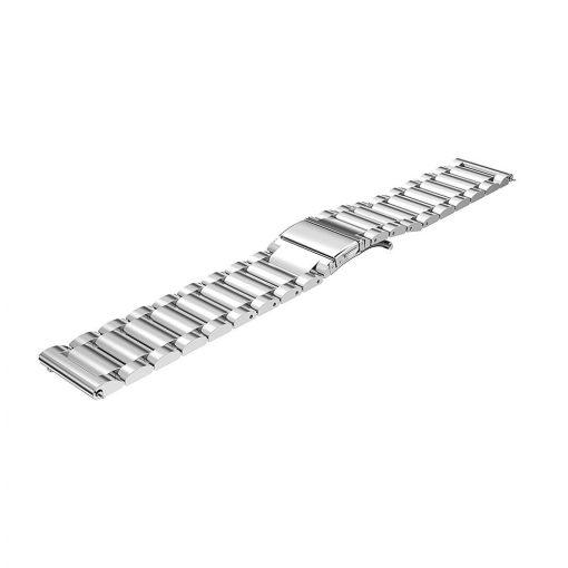 Borstad Metallarmband till Huawei Watch GT Silver
