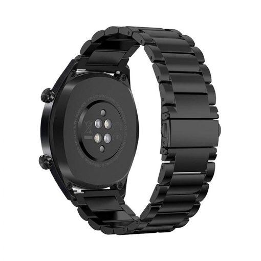 Borstad Metallarmband till Huawei Watch GT Svart