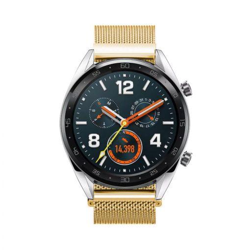 Milanese Loop till Huawei Watch GT Guld