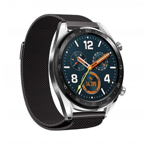 Milanese Loop till Huawei Watch GT Svart
